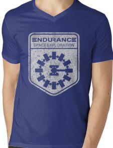 vintage Endurance stamped (light print) Mens V-Neck T-Shirt