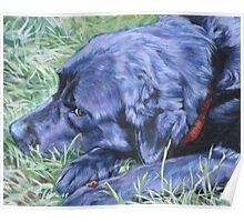 Labrador Retriever Fine Art Painting Poster