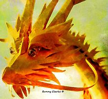 Golden Dragon by Bunny Clarke
