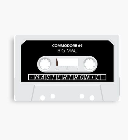 C64 Big Mac Cassette  Canvas Print