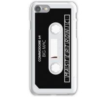 C64 Big Mac Cassette  iPhone Case/Skin