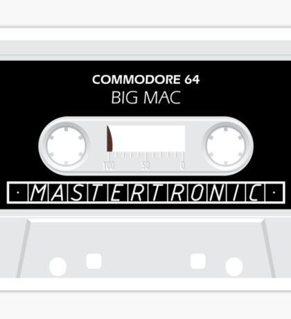 C64 Big Mac Cassette  Sticker