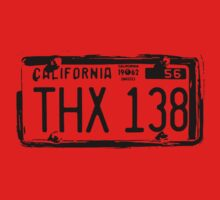THX 138 Licence Plate Alpha by picto