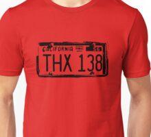 THX 138 Licence Plate Alpha Unisex T-Shirt