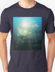 Abstract Underwater 3 Unisex T-Shirt