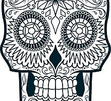 Calavera Skull XXXIX by viSion Design