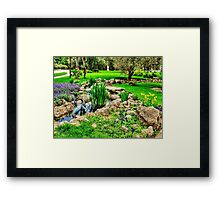 The reminiscence about spring walk... Framed Print