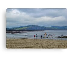 The Last Day of August - Lyme Dorset UK Canvas Print
