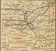 Old map of Louisiana by franceslewis