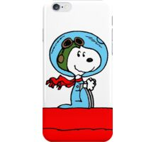 Snoopy in the Space iPhone Case/Skin