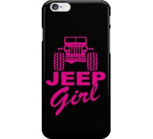 Jeep Girl iPhone Case/Skin