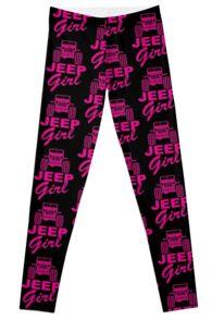 Jeep Girl Leggings