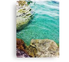 Tobermory Ontario Flower Pot Islands Water Canvas Print