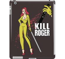 Kill Bill Jessica Rabbit iPad Case/Skin