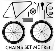 Chains Set Me Free Poster