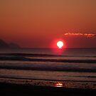 Cornish Sunset 03 by Peter Barrett