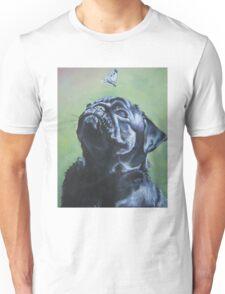 Pug Fine Art Painting Unisex T-Shirt