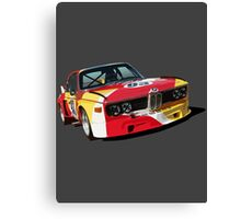 BMW E9 CSL Batmobile - Calder Art Car Livery Canvas Print