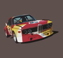 BMW E9 CSL Batmobile - Calder Art Car Livery by fozzilized