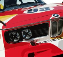 BMW E9 CSL Batmobile - Calder Art Car Livery Sticker