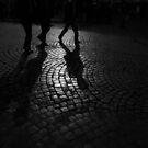 Roman Cobblestone Silhouettes by Luke Griffin