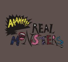 Aahh!!! Real Monsters One Piece - Short Sleeve