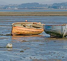 Morecambe Bay by Peter Stone