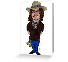 Jhonny's style!  Greeting Card