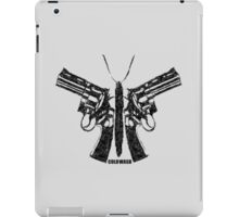 BUTTERFLY GUNS iPad Case/Skin