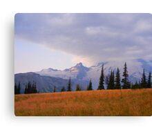 Mt. Rainier at Sunrise Canvas Print