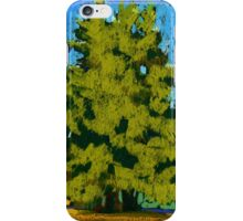 Cedar trees in Vancouver iPhone Case/Skin