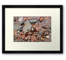 Rocks of Lake Superior 3 Framed Print