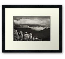 Stormy Thursday Framed Print
