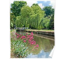 Cotswold Stream Poster
