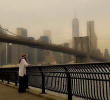 Brooklyn Bridge by jonwhitehead