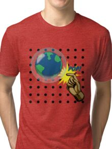 Don't Pop the Ozone Layer Tri-blend T-Shirt