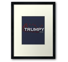 Trumpy 2016 Framed Print
