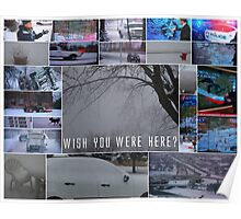 Wish You Were Here? Poster