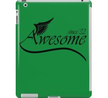 Awesome Since 1932 iPad Case/Skin