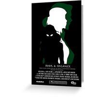 The Legend of Korra-Book 4: Balance Korra/Kuvira Greeting Card