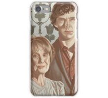 Sherlock & Mrs. Hudson iPhone Case/Skin