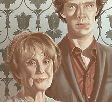Sherlock & Mrs. Hudson by android-sheep