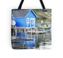 Blue in The Water Tote Bag