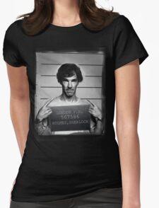 sherlocked Womens Fitted T-Shirt