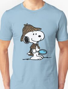 Detective Snoopy Holmes T-Shirt