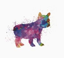 French Bulldog puppy 01 in watercolor Kids Clothes