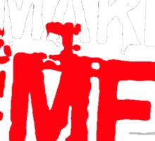 """MUSIC - """"Haters Make Me Famous"""" Sticker"""