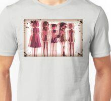 Gakkougurashi! Chars Wanted Unisex T-Shirt