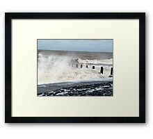 A Great Day for the Spray Framed Print