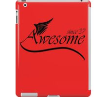 Awesome Since 1937 iPad Case/Skin